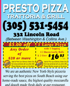 Pizza delivery coupons miami south beach sobe