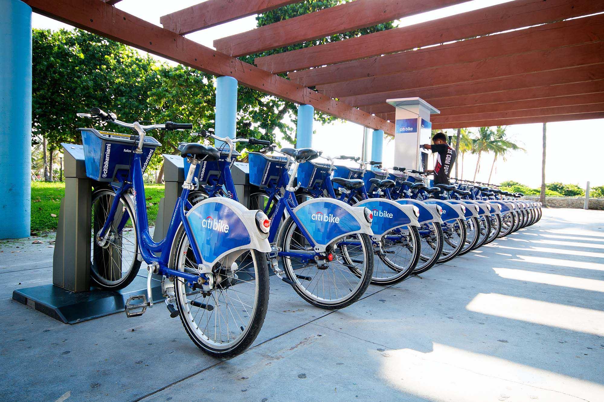 Citi Bike ENJOY MIAMI BEACH